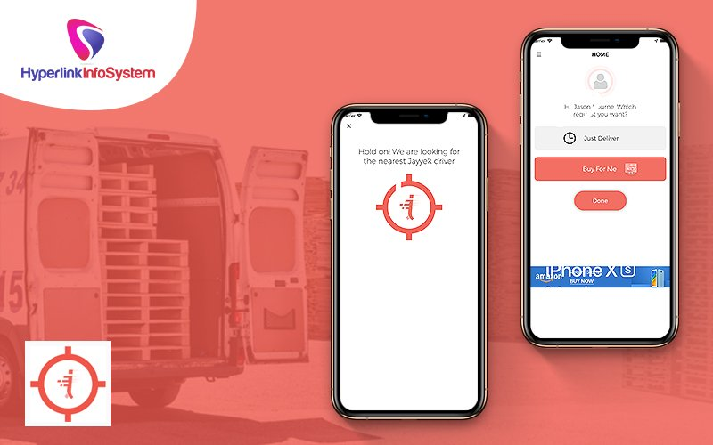 on-demand product delivery app