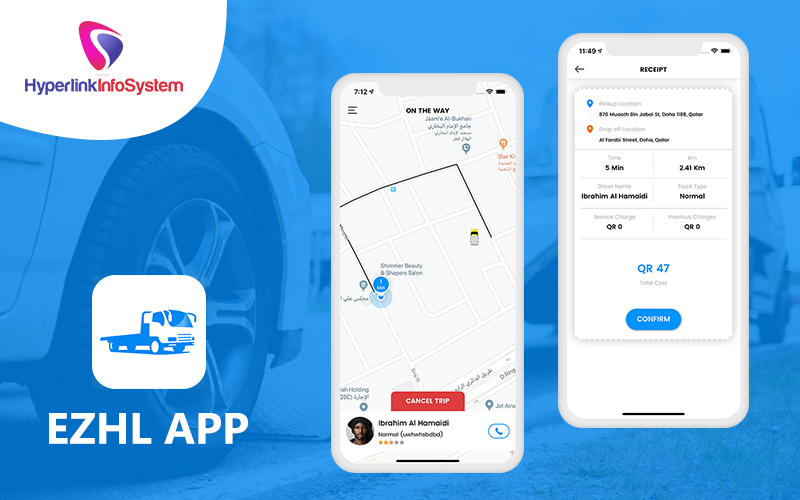 on-demand tow truck booking app