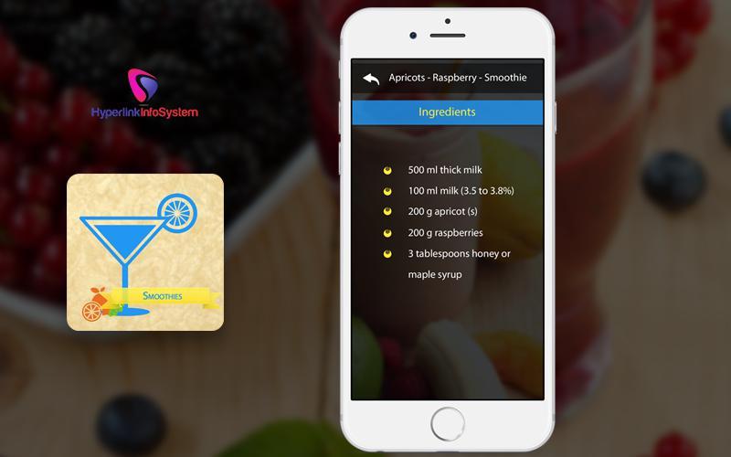 food recipe app development