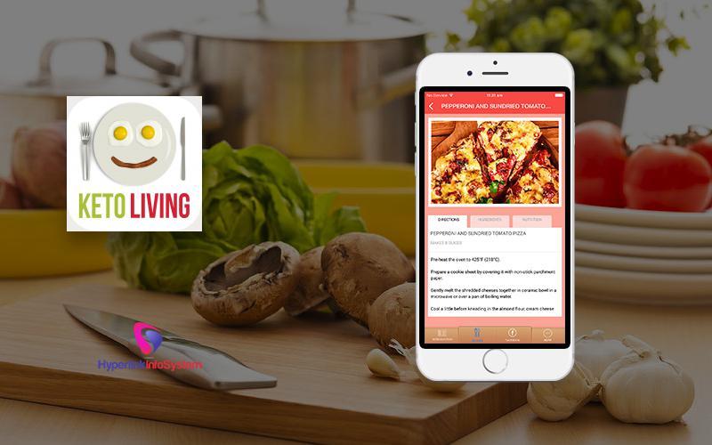 online recipe app development