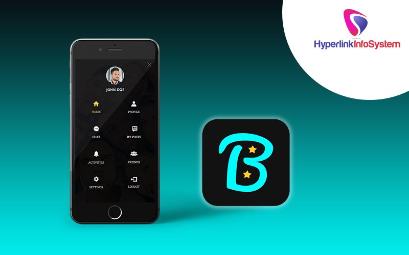 bstar social app development