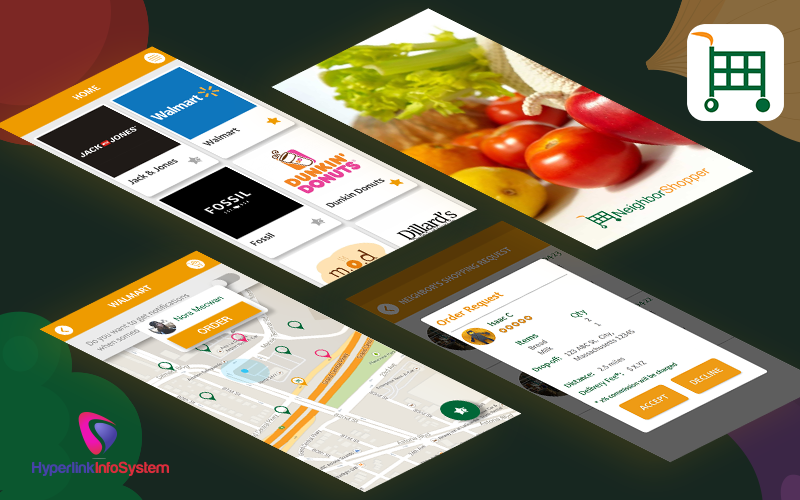 on-demand grocery delivery app