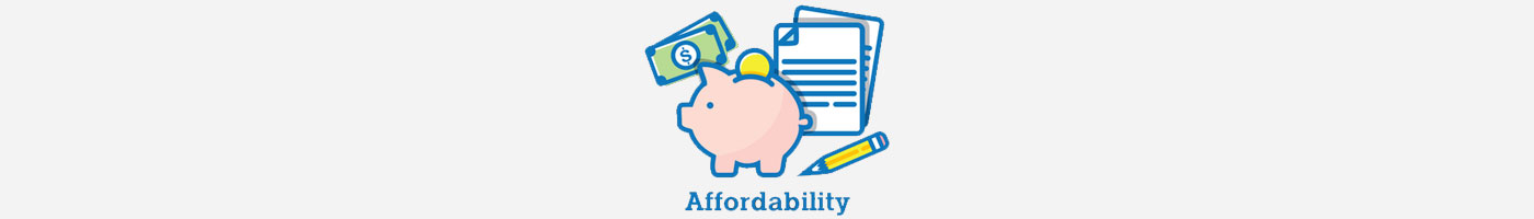 ask about affordability