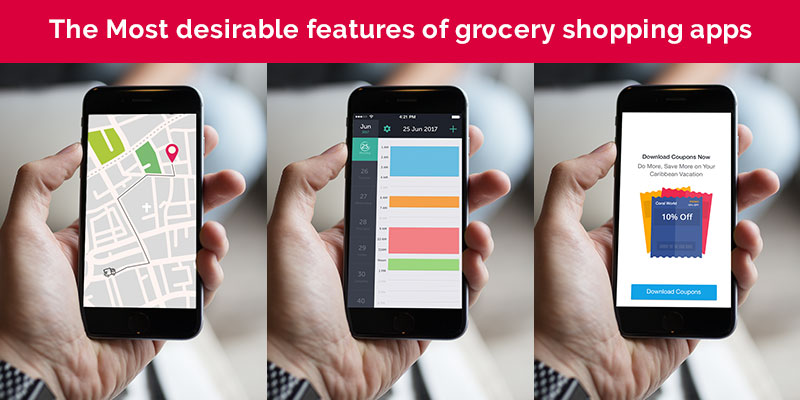 grocery shopping app features
